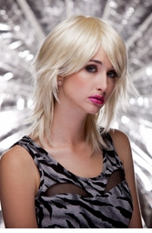 Vamp Shoulder Length Wig in California Blonde
