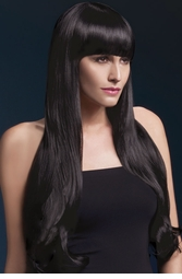 Very Long Bella Wig with Natural Wave in Black