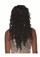 Very Long Glossy Curls Human Hair Blend Wig inset 1