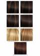 Very Long Glossy Curls Human Hair Blend Wig inset 3