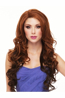 Very Long Heat Safe Lace Front Wig with Loose Curls