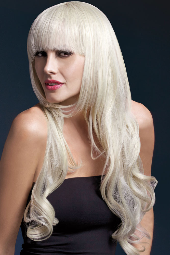 Very Long Wig Yasmin with Loose Curl in Blonde
