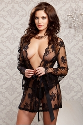 Victory Lace Robe