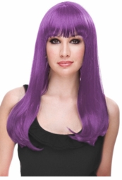 Violet Purple Fairytale Glamour Wig for $29.99