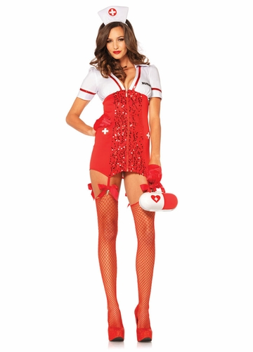 Vital Sign Vixen Nurse Costume