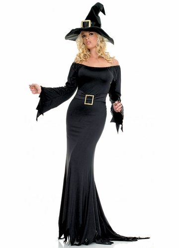 Voluptuous Cauldron Witch Costumes