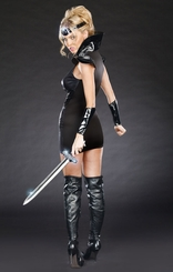 Warrior of Darkness Costume