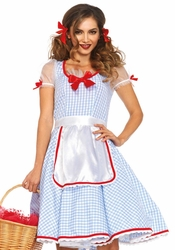Wizard of Oz, Dorothy, Tin Man, and Scarecrow Costumes