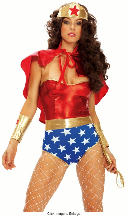 Wondruous Woman Superhero Costume