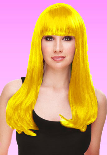 Yellow Kelly Wig