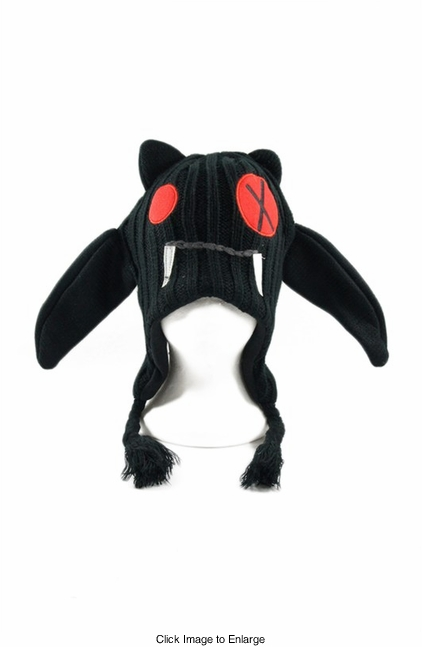Zombie Bat Winter Hat