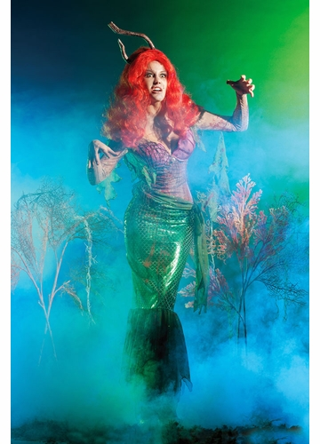 Zombie Fishhook Mermaid Costume
