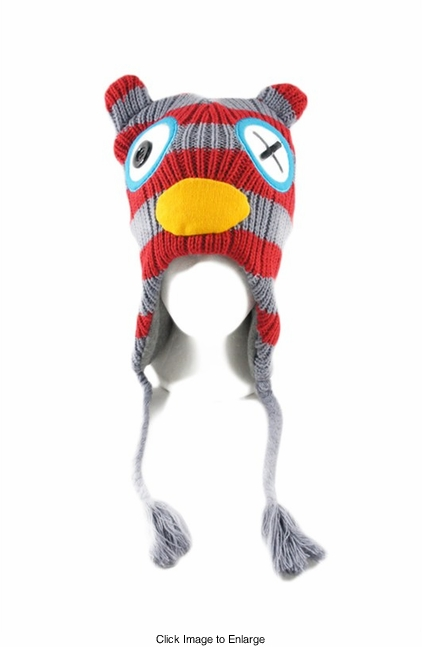 Zombie Owl Winter Hat