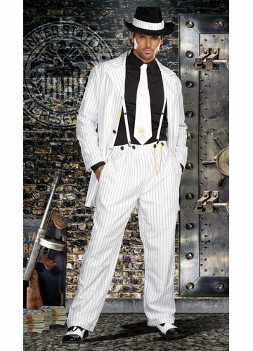 Zoot Suit Gangster Costume for Men