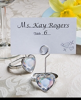 10 Engagement Ring Place Card Holders