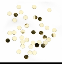 Gold Wedding Confetti Dots