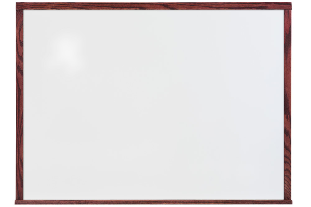 5 tall mahogany whiteboards
