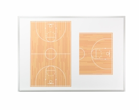 Basketball Dry Erase Boards - Wall Mounted