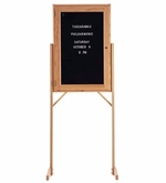 Double Pedestal Letter Boards
