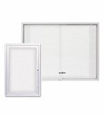 Enclosed Whiteboard Cabinets