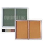 Indoor Glass Enclosed Bulletin Boards