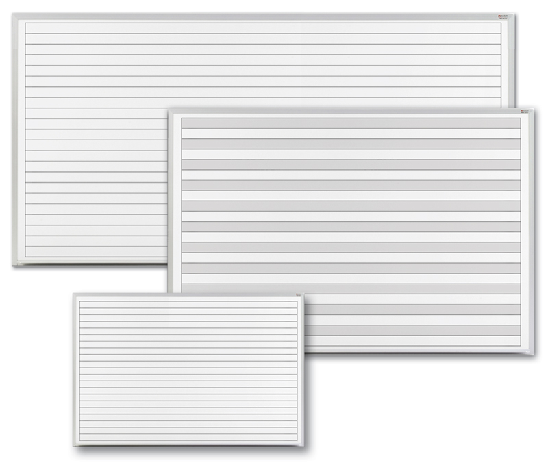 Dry Erase Boards with Grids and Lines – Lined Chart Paper