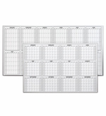 Magnetic 12 Month Dry Erase Calendars
