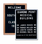 Open Faced Indoor Letter Boards