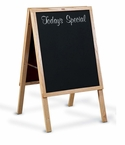 Restaurant Menu Easel