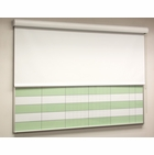 The HideAway Whiteboard Privacy Screen