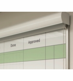 The HideAway™ Whiteboard Privacy Screen