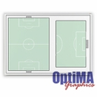 Wall Mounted Soccer Dry Erase Boards