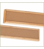 Wood Cork Display Strips