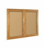 Wood Enclosed Bulletin Boards