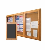 Enclosed Wood Fabric Tack Boards