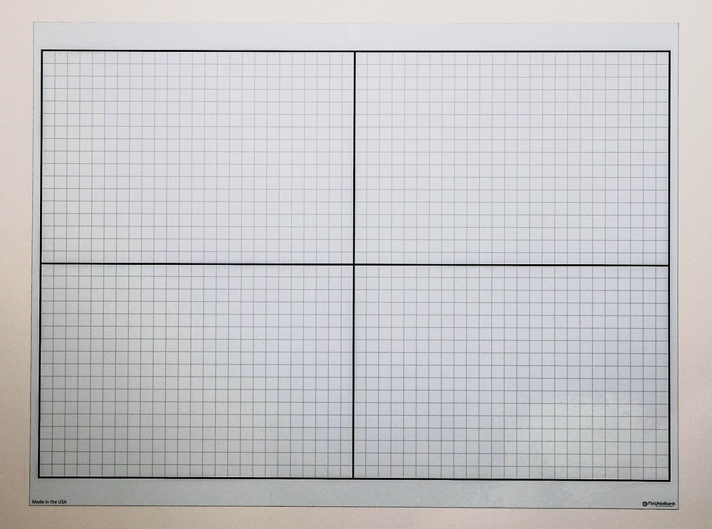 Dry Erase XY Axis Graph Magnet