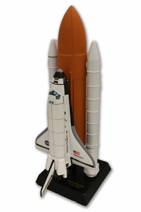1/100th Space Shuttle Scale Model with Stack