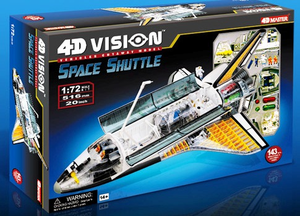 4D Space Shuttle Model Kit