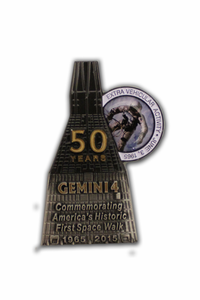 50th Anniversary Gemini 4 Medallion - Limited Edition