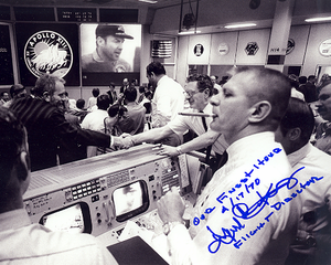 Apollo 13 Gene Kranz - Autographed Photo