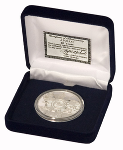 Apollo 40th Anniversary Silver Coin