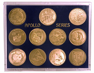 Apollo Bronze Coin Set