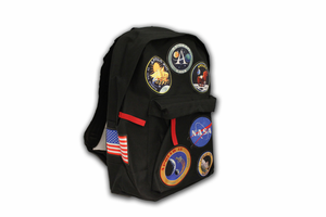 Apollo Patch Backpack - Black
