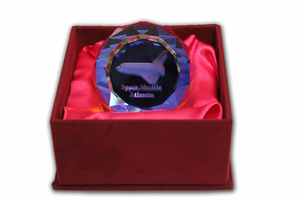Atlantis Crystal Paperweight