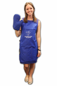 Be Greater Than Average Apron - Royal