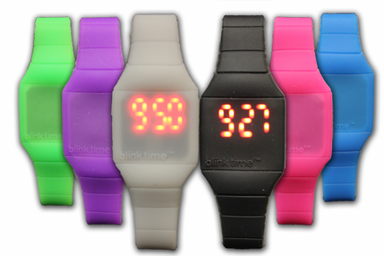 Blink Time Watches - Assorted Colors