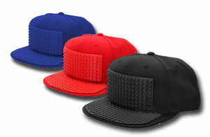 Bricky Block Hat - Assorted Colors