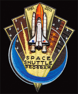 Commemorative Space Shuttle Patch