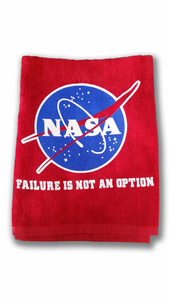 Failure Is Not An Option Dish Towel - Red