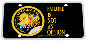 Failure Is Not An Option - License Plate